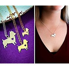 Cairn Terrier Dog Necklace - IBD - Personalize with Name or Date - Choose Chain Length - Pendant Size Options - Sterling Silver 14K Rose Gold Filled Charm - Ships in 2 Business Days