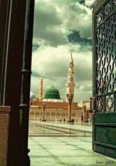Madina Al Masjid An Nabawi, Masjid Al Haram, Sea Wallpaper, Islamic Wallpaper, Roza Imam Hussain, Medina Mosque, Imam Hussain Wallpapers, Ramadan, Green Dome