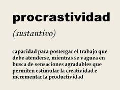 the cool ruler: Procrastividad