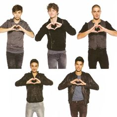 The Wanted. The next generation of Boy Bands! Makes me think of my BH Sistas!