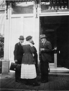 Freud, Anna: Freud, Sigmund: Rank, Otto  Date: 1920 Event: Psychoanalytic Congress Location: Netherlands, Hague