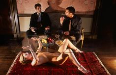 Forniphilia (Human Furniture). Photo Alva Bernardine.