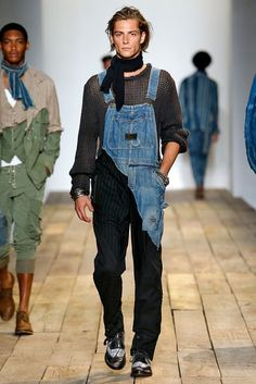 A look from the Greg Lauren Spring 2016 Menswear collection | Festival attire