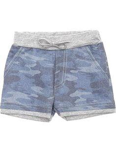 Camo short imprimé camouflage                                                                                                                                             camouflage bleu Petit garçon