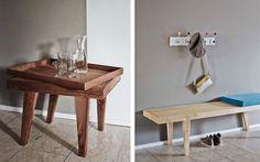 Schweizer Firma Raum B baut sowohl Häuser als auch massgeschneiderte Möbel