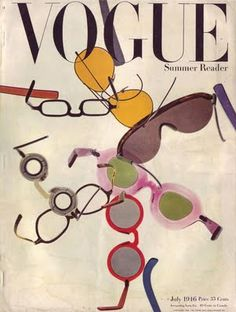 US Vogue July 1946 ~ Summer Reader... keep something long enough and the style resurfaces.