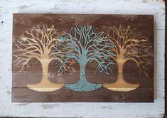 f22da48309e Reclaimed wood Tree of life Wall Art