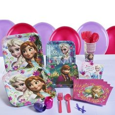 Frozen Party Supplies Collection - Tableware (($))