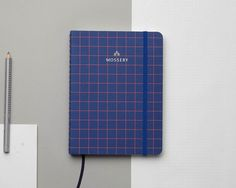 Royal Grids A5 Notebook by Mossery