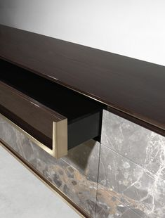 Lacquered sideboard with drawers BARNEY By Visionnaire design Fabio Bonfà Lcd Units, Console Shelf, Drawer Design, Interior Decorating, Interior Design, Tv Cabinets, Living Room Modern, Chinese Style, Sideboard