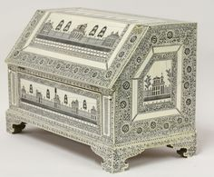 A Vizagapatam ivory table bureau, late 18th century £5,600 on 15th September 2015