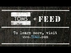 toms + feed / mostly because lauren bush is rad