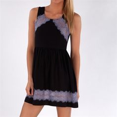 Free People Women's Contemporary Textured Rayon Georgia Dress #VonMaur #FreePeople #ScoopBack #Lace