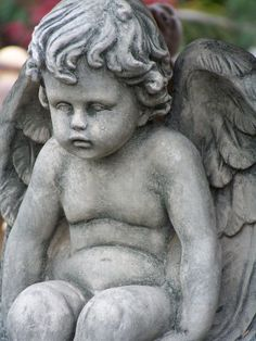 Cherub Angel Garden Statue Fine Art Giclee Photographic Print At Artist  Rising. Artist Rising Is The Premier Destination For Discovering Original  Art, ...