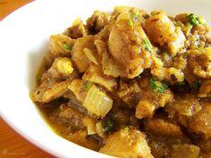 Kuracie vindaloo Vindaloo, Pork, Ethnic Recipes, Sweet, Kale Stir Fry, Pork Chops