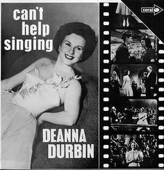 Deanna Durbin (Vinyl LP) Can  Help Singing-UK-CP.43  Coral - 1970 by SkandiRetroMusic on Etsy
