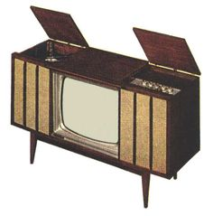 Motorola Model 23SF3 TV Set (1960)  we had one of these lol Turntable, hi-fi radio, and TV. Ours  had an 8 track