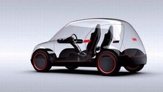 Future car that changes colour or becomes translucent Imaage 1