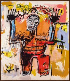 Jean-Michel Basquiat (1960-1988), Untitled, acrylic, oilstick and spray paint on canvas, 78 1/8 x 72in. (199.5 x 182.9cm.). Executed in 1981. Estimate on request. Price Realized £12,921,250 ($20,170,071) (€16,138,641). Photo: Christie's Images Ltd., 2012