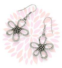 "How cute for spring/summer! Easy casual wear... Premier Designs 2013 - ""Miss Daisy"" Earrings"