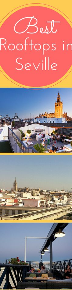 Not only is the view wonderful, but these bars also make the perfect place to catch the breeze at the end of a hot summer's day. So here are our favorites, our picks for the best roof top bars in Seville! http://devoursevillefoodtours.com/best-roof-top-bars-in-seville/