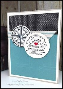 What's New Wednesday - see great ideas using the Going Global stamp set from the Occasions Catalog 2016 - www.SimplySimpleStamping.com - see the March 16, 2016 blog post
