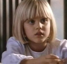 Kaley Cuoco or Penny as a child