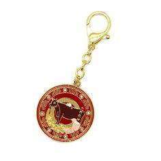 Breloc Feng Shui Amuleta Anuala 2021 Dimensiuni: 12 cm x 5cm Greutate: 45 Grame Material: Metal Amuleta anuala din 2021 reprezinta animalul conducator, boul, plin de compasiune si puternic, in... Feng Shui, Personalized Items, Products, Jewerly, Gadget