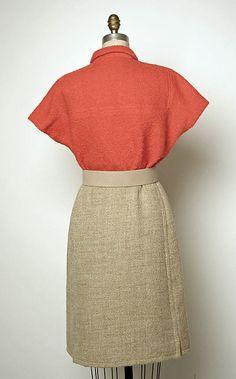 Ensemble Back c.a. 1964,  Medium: wool