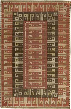 A Swedish flat weave rug BB6151 by Doris Leslie Blau