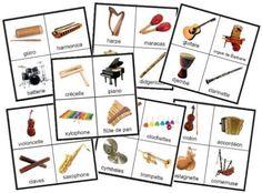 Lotos sonores des cris des animaux, des bruits familiers et des instruments de musique. Planches de loto sonore à imprimer, extraits au format mp3