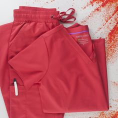 Healing Hands scrubs are now available at Uniform Advantage! Shop today for high quality scrubs such as Purple Label scrubs, scrubs, and Performance Sport scrubs. Red Scrubs, Custom Corsets, Red Spice, Uniform Advantage, Hand Scrub, Healing Hands, Viktor Rolf, Medical Scrubs, Shades Of Red