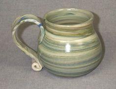 Original Hand Made Stoneware Coffee Mug by RichardMartinPottery, $20.00