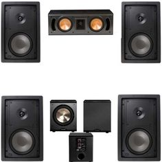 Klipsch R2650W In Wall 1 51 Home Theater SystemRC42IIFREE PL200 -- You can find more details by visiting the image link.