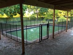Pool Fence Avalon Park - Swimming pools every shape and size we do custom pool fence installs for to keep Central Florida children safe! #PoolFence #PoolSafety #BabyBarrier