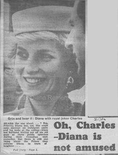 Memories Of Diana : Prince Charles & Princess Diana Visit Nanaimo - Naming It 'The Harbour City' - May 1st 1986