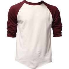 Casual Raglan Mens 3/4 Sleeve TShirt Baseball Cotton Jersey S-3XL (17+... (525…