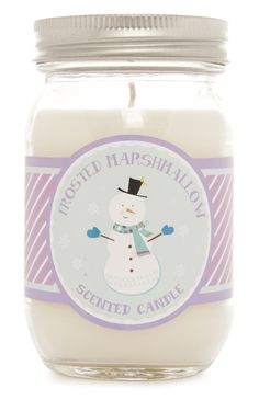 Primark - Frosted Marshmallow Candle