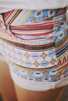 I still haven't decided how I feel about print shorts, but I've been noticing some nice ones lately.