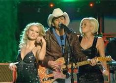 Kelli Pickler & Taylor Swift opened for Brad Paisley at the Wharf in Orange Beach/Gulf Shores, Alabama in 2007-08.