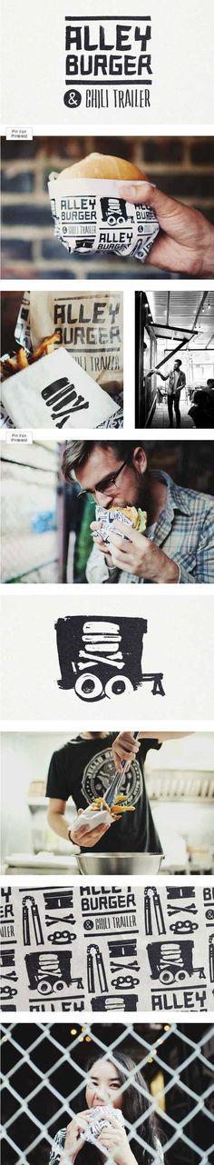 Alley Burger & Chili Trailer http://sleepop.com/Alley-Burger-Chili-Trailer