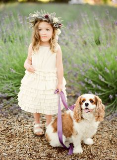 i would love to have my lil lola girlie walking down the isle with the flower girl