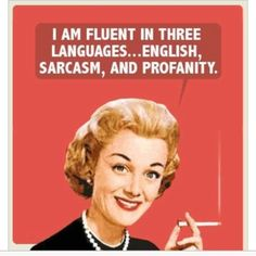 fluent in three languages