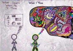 Die kleuren maken ADHD'ers juist uniek!