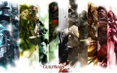 Guild Wars 2 Professions By Serphiroth101