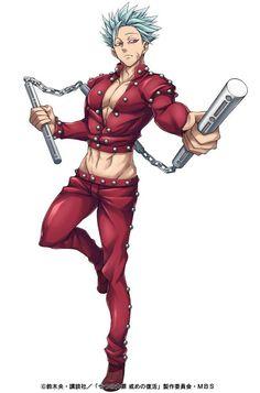 𝓛𝓲𝓷-Nanatsu no Taizai (Ban) - 𝓛𝓲𝓷-Nanatsu no Taizai (Ban) - Hot Anime Boy, I Love Anime, Me Me Me Anime, Anime Guys, Seven Deadly Sins Anime, 7 Deadly Sins, Anime Angel, Ban Anime, Animé Fan Art