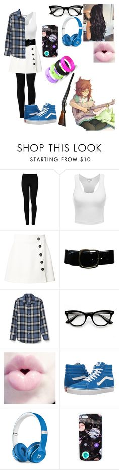 """""""Jade Harley (Homestuck)"""" by jefferson-madhatter ❤ liked on Polyvore featuring Wolford, Misha Nonoo, Chanel, ZeroUV, Vans, Beats by Dr. Dre and Nikki Strange"""