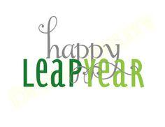 Happy Leap Year