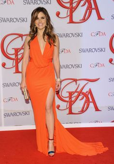 Sophia Bush in David Meister gown attends the 2012 #CFDA Fashion Awards