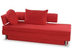 Sofas For Sale Microfiber queen size sofa bed with shades of red